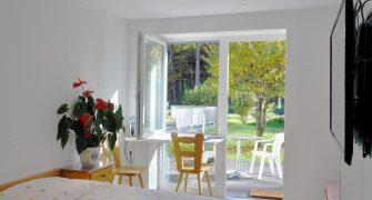 Chambres avec terrasses